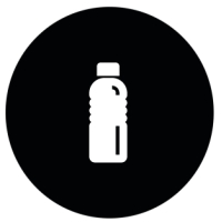 Scorta d'acqua e di cibo